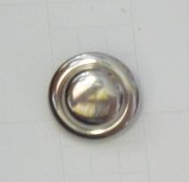 Metallknapp 1733 silver