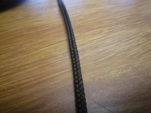 Polyestersnodd 4mm Brun