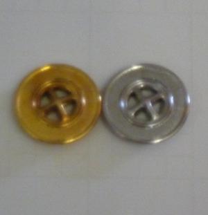 Metallknapp 22mm 4-hål
