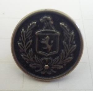 """Motivknapp """"emblem 3"""" Silveroxid 14mm"""