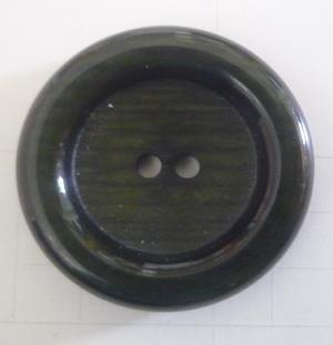 Knapp 2-håls 36 Grön 28mm