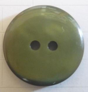 Knapp 2-håls 24 Ljusgrön