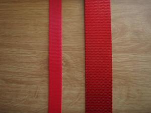 Syntetband PP Röd